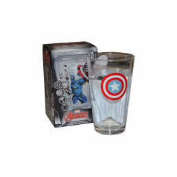 Verre Thermoréactif Captain America Marvel