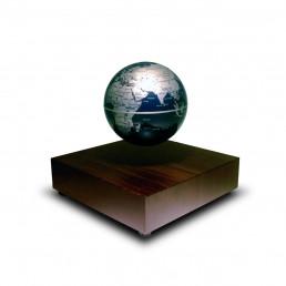 Globe Flottant en Lévitation - Modèle Bois