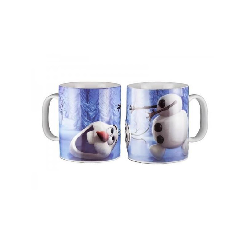 le mug 2d olaf la reine des neiges pour fille sur cadeaux. Black Bedroom Furniture Sets. Home Design Ideas