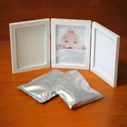 Kit Cadre Moulage Empreintes Bébé