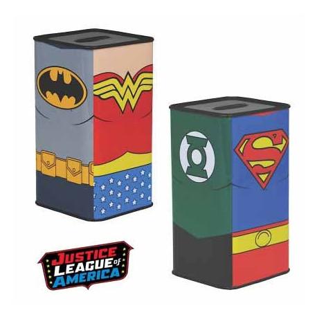 Tirelire Métallique Justice League