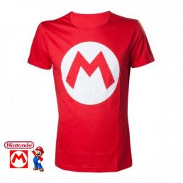 T-Shirt Mario Nintendo Logo M