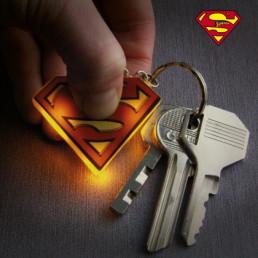 Porte-Clés Lumineux Superman