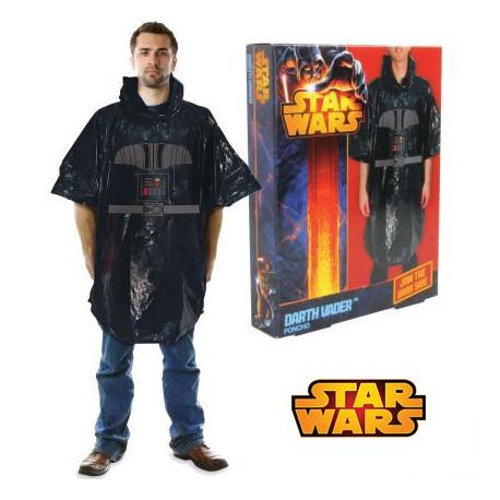 poncho dark vador star wars cadeau star wars geek sur cadeaux. Black Bedroom Furniture Sets. Home Design Ideas