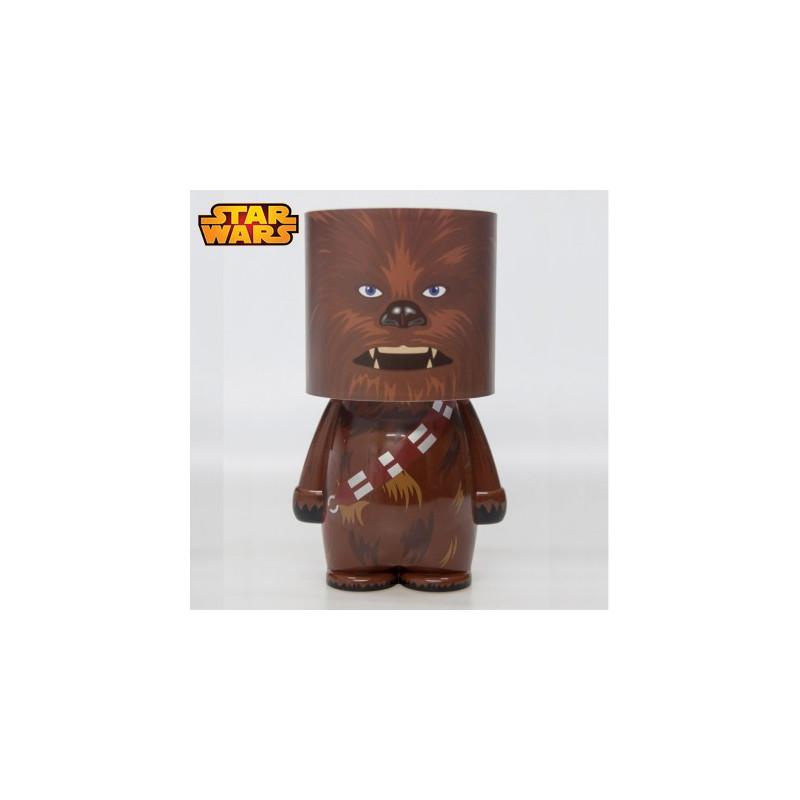 lampe chevet star wars l 39 effigie de chewbacca sur cadeaux et anniversaire. Black Bedroom Furniture Sets. Home Design Ideas