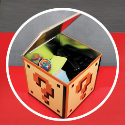 Boîte Mystère Métallique Super Mario Bros Nintendo