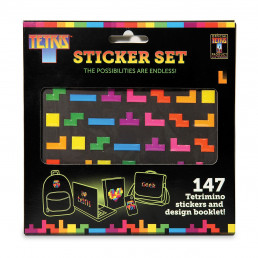 Lot de 147 Stickers Tetris
