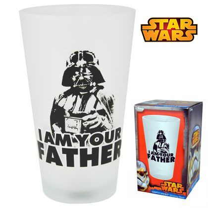 maxi verre star wars dark vador i am your father cadeau. Black Bedroom Furniture Sets. Home Design Ideas