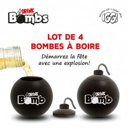 Shooters Bombes - Lot de 4