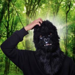 Masque Gorille Articulé Deluxe