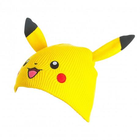 Bonnet Pokémon Pikachu avec Oreilles