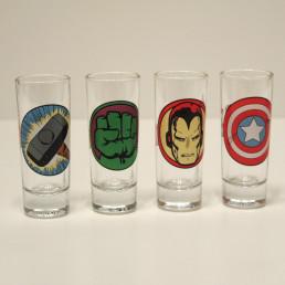 Shooters Super-Héros Marvel - Lot de 4