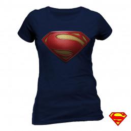T-shirt Superman Man of Steel Femme