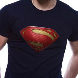 T-shirt Superman Man of Steel Homme