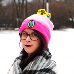 Bonnet Princesse Peach Nintendo