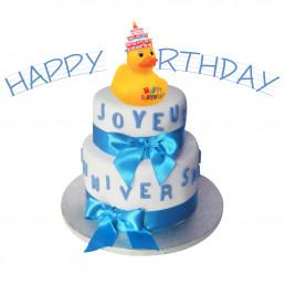 Canard Anniversaire - Happy Birthday