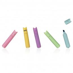 Mini Surligneurs Pastel Animaux - Lot de 5