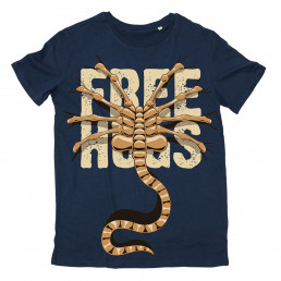 T-shirt Alien Free Hugs