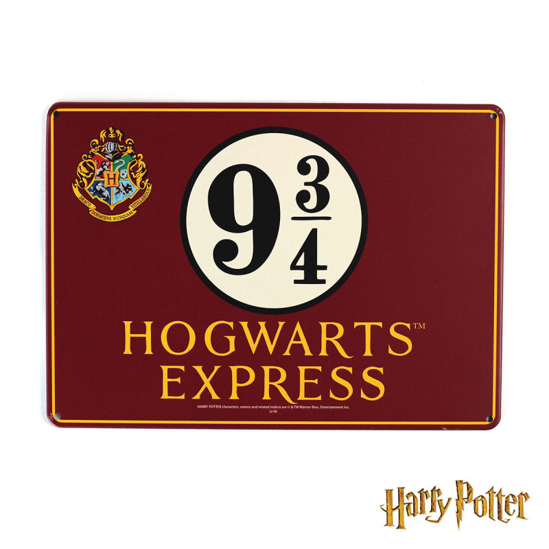 Harry Potter Muppets: Affiche Décorative Voie 9¾ Pour Le Train Poudlard Express