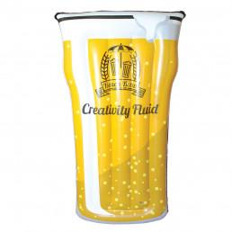 Maxi Matelas Gonflable Pinte de Bière