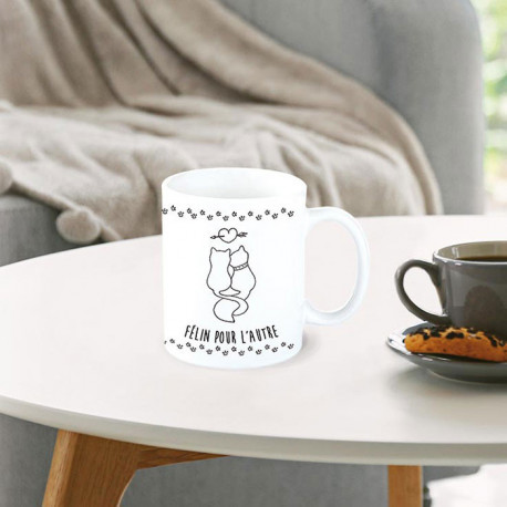 Mug chats - Félin pour l'autre