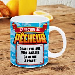 Mug Pêcheur Dicton