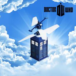 Tardiscopter, le Tardis Volant Radiocommandé Dr Who