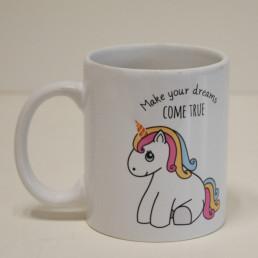 Mug Licorne - Make Your Dreams Come True