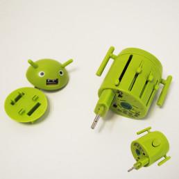 Adaptateur de Voyage Robot Multi-Prises