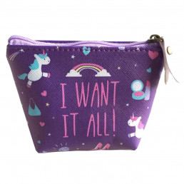 Porte-Monnaie Licorne - I want it all