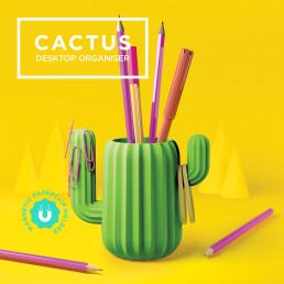Pot à Crayons Cactus