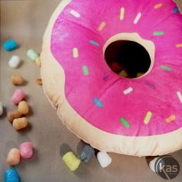 Coussin Peluche Donut