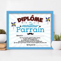 Cadre Diplôme Parrain