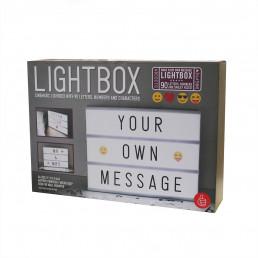 Tableau de Message Lumineux Personnalisable A4