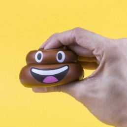 Emoticône Crotte Anti-Stress
