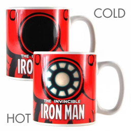 Mug Thermoréactif Iron Man Invincible Marvel