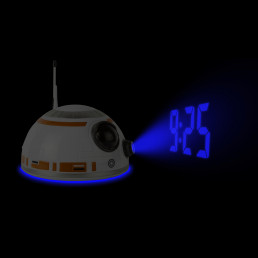 Réveil Projection Tête BB-8 Star Wars