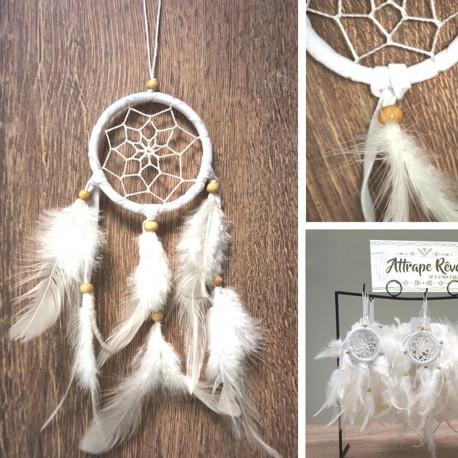 Attrape-Rêves Blanc