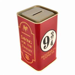Tirelire Harry Potter Poudlard Voie Express 9 3/4