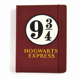 Carnet A5 Harry Potter Poudlard Voie Express 9 3/4