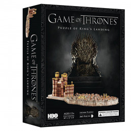 Puzzle 4D Game of Thrones - Port-Réal