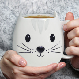 Mug Chat 3D Kitty