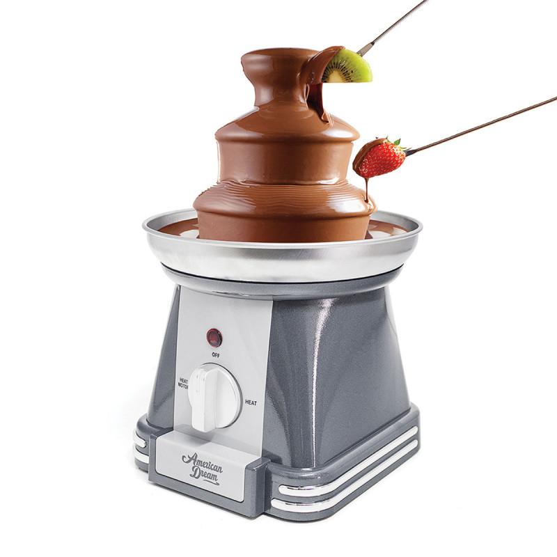 machine chocolat american dream pour fondue au chocolat sur cadeaux et anniversaire. Black Bedroom Furniture Sets. Home Design Ideas