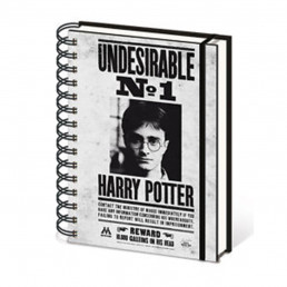 Carnet à Spirales Harry Potter Undesirable n°1