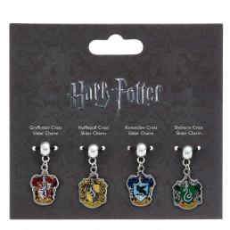 Pendentifs Harry Potter Maisons - Lot de 4