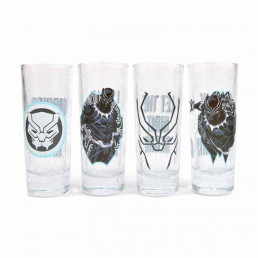 Shooters Marvel Black Panther - Lot de 4
