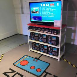 Tapis de Rétro-Gaming - 140 Jeux