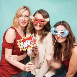 Kit d'accessoires pour selfie super-héros