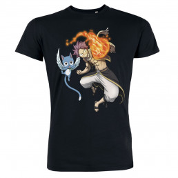 T-Shirt Fairy Tail Natsu & Happy
