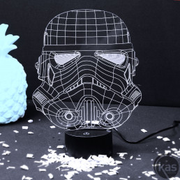 Lampe Acrylique Stormtrooper Star Wars